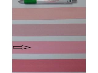 Pamut ferdepánt, 3 cm széles, rózsaszín (8345)
