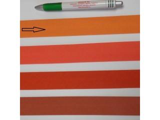 Pamut ferdepánt, 3 cm széles, narancs (8347)