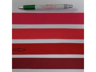 Pamut ferdepánt, 3 cm széles, piros (8353)