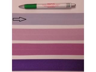 Pamut ferdepánt, 3 cm széles, világos lila (8356)