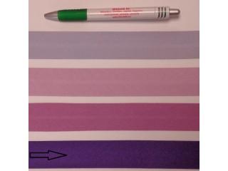 Pamut ferdepánt, 3 cm széles, sötét lila (8358)