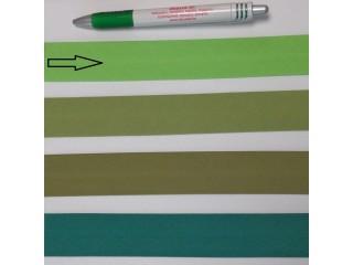 Pamut ferdepánt, 3 cm széles, kiwi zöld (8359)