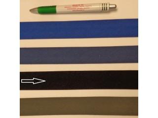 Pamut ferdepánt, 3 cm széles, sötétkék (8369)
