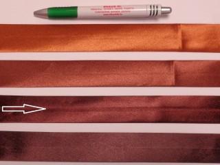Szatén ferdepánt, 3 cm széles, sötétbarna (8397)