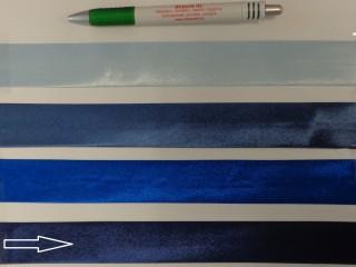 Szatén ferdepánt, 3 cm széles, sötétkék (8402)