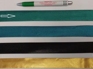 Szatén ferdepánt, 3 cm széles, sötétzöld (8407)