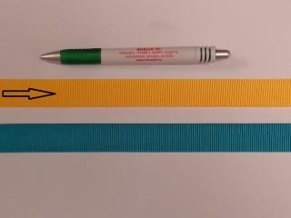 Ripsz szalag, 2 cm széles, napsárga (8430)