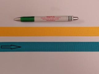 Ripsz szalag, 2 cm széles, türkiz (8431)