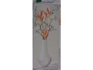 Gobelin, szárazvirág vázában (8446)