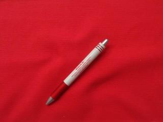 Körkötött passzé, piros (8509)