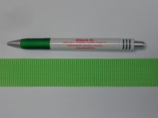 3 cm széles heveder, kiwizöld (8559)