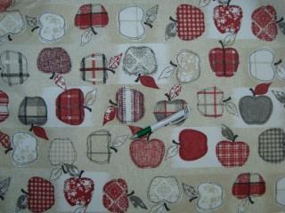 Vízlepergetős kerti bútor vászon, pipacsos (8678)