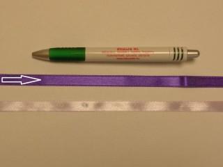1 cm széles szatén szalag, sötét lila (8715)