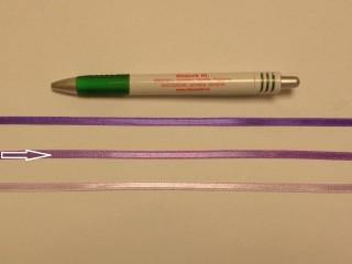 0,5 cm széles közép lila szatén szalag (8717)