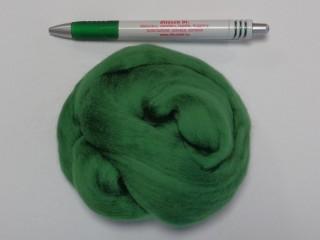 Juhgyapjú, 20g, fésült, extra puha, zöld (8786)