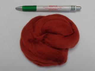 Juhgyapjú, 20g, fésült, extra puha, vörösesbarna (8788)