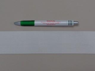 5 cm-es gumiszalag, fehér (8818)