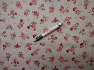 Loneta, kis rózsás kerti bútor vászon (8830)