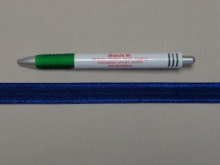 Melltartó gumi, kék, 17 mm széles (8879)