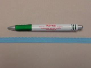 Csipkegumi, világos kék, 10 mm széles (8884)