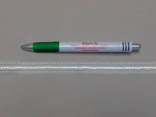 Csipkegumi, ekrü, 15 mm széles (8888)
