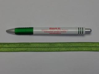 Szegő (ipszilon) gumi, zöld; 16 mm széles (8896)