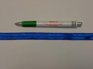 Szegő (ipszilon) gumi, kék; 16 mm széles (8901)