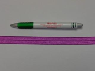 Szegő (ipszilon) gumi, mályva; 16 mm széles (8902)