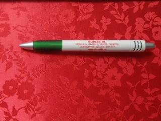 Brokát, virágos, piros (8959)