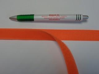 Varrható tépőzár párban, 2 cm széles, narancs (8978)