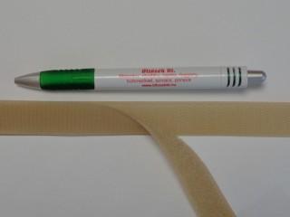 Varrható tépőzár párban, 2 cm széles, drapp (8982)