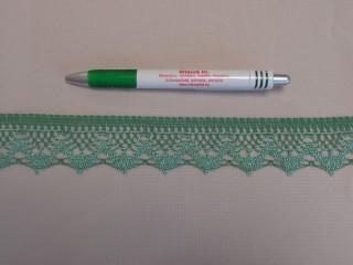 Díszítő csipke, zöld (9089)