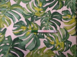 Loneta, zöld nagyleveles kerti bútor vászon (9092)