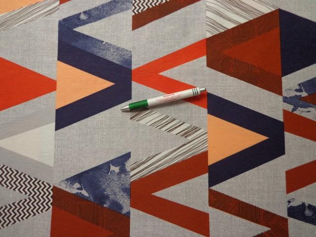 Loneta, drapp-szürke-barna mintás kerti bútor vászon (9134)