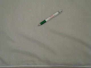 Fehér alapon magában mintás függöny, 280 cm magas (9310)