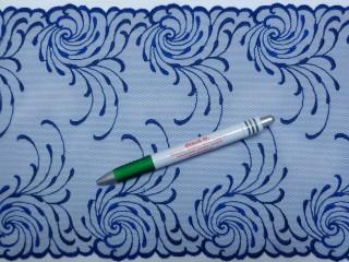 Tüll csipke, kék (9445)
