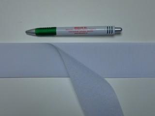 Varrható tépőzár párban, 5 cm széles, fehér (9481)