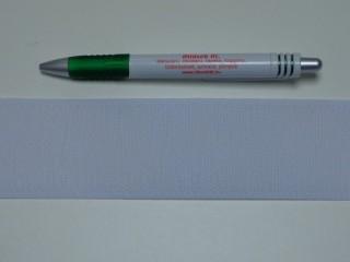 Varrható tépőzár, csak a dörzsi fele, 5 cm széles, fehér (9480)