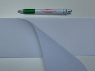 Varrható tépőzár párban, 10 cm széles, fehér (9487)