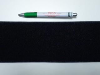 Varrható tépőzár, csak a puha fele,10 cm széles, fekete (9488)