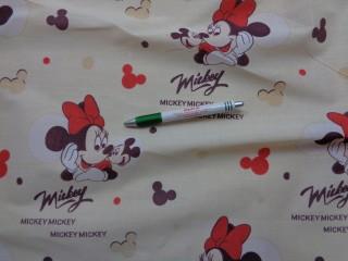 Gyerekmintás karton, Minnie egeres, piros (9518)