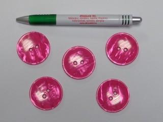 Pink kabát gomb, átmérő 38 mm (9529)