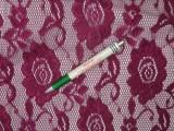 Rugalmas csipke, lilás padlizsán (9543)