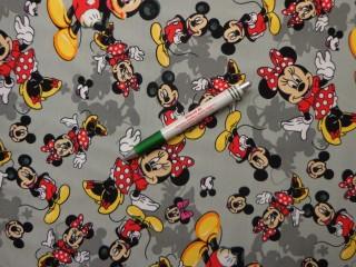 Sztreccs futter, Minnie és Mickey egér árnyékokkal (9730)