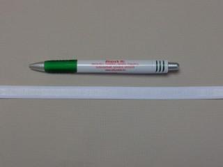 Melltartó gumi, fehér ,12 mm széles (9775)