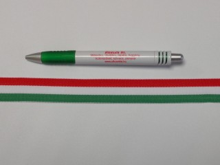 22 mm széles nemzeti színű szalag (9779)