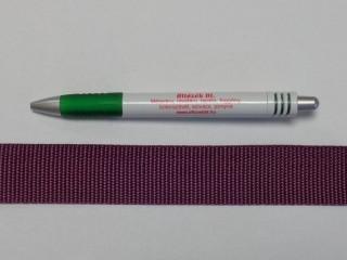 3 cm széles heveder, padlizsán (9857)