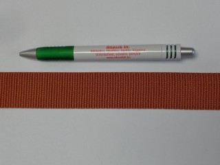 3 cm széles heveder, rozsda (9858)