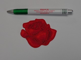 Vasalható folt, piros rózsa (9878)