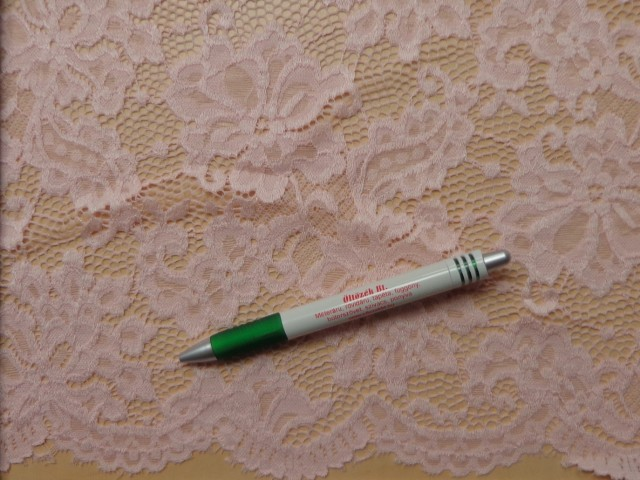 Rugalmas csipke, slingelt, barackos - rózsaszín (10005)